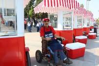 ENGELLİ VATANDAŞ - Simit Arabaları Engellilerin İş Umudu Oldu