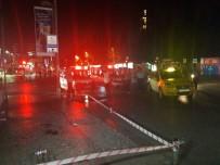 BÜYÜKDERE - Şişli'de Olaylı Gece Açıklaması 1 Yaralı