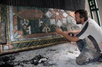 Sivas Halısının Polyesterden Heykelini Yaptılar