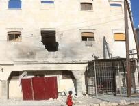 Terör örgütü PKK/PYD'den Bab'a füzeli saldırı