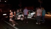 HASTANE - Tırla Otomobil Çarpıştı Açıklaması 1 Ölü, 1 Yaralı