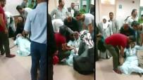 HASTANE - Ağrı Devlet Hastanesinde Skandal Görüntüler