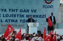 Başbakan Yıldırım, Konya YHT Garı İle Kayacık Lojistik Merkezi'nin Temelini Attı