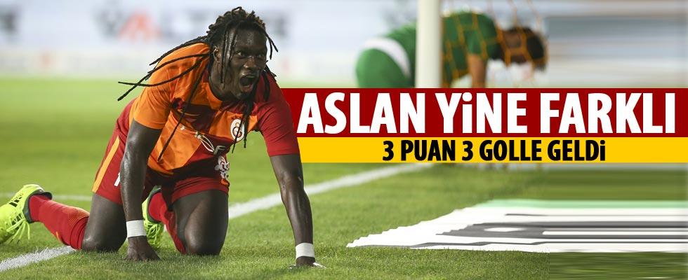 Galatasaray Ankara'dan 3 puanla döndü