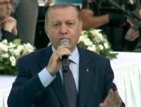 RECEP TAYYİP ERDOĞAN - Cumhurbaşkanı Erdoğan Denizli'de konuştu!