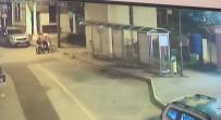 TAKSİ DURAĞI - Elektrikli Bisiklet Hırsızlığı Güvenlik Kamerasında
