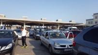 PAZARKULE - Kapıkule'de Dönüş Yoğunluğu Sürüyor
