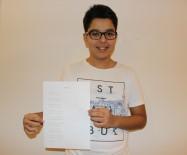 SIVAS KONGRESI - Manisalı Öğrenci Türkiye Birincisi Oldu