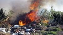 ZEYTINLI - Sazlık Yangını İlçeyi Duman Altında Bıraktı