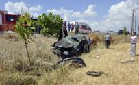Tatil Dönüşü Kaza Açıklaması 2 Yaralı