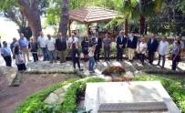 TEVFİK FİKRET - Tevfik Fikret, Mezarı Başında Anıldı