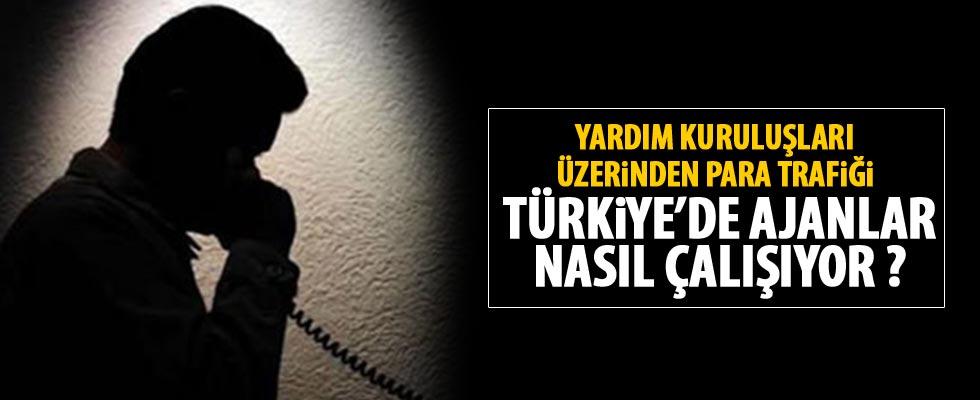 Türkiye'deki ajanların kirli para trafiği