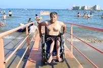 ULUSLARARASI - Uluslararası Standartlardaki Engelli Plajı, Türkiye'nin Her Yerinden İlgi Gördü