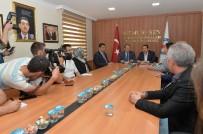 YOKSULLUK SINIRI - AK Parti Genel Başkan Yardımcısı Karacan'dan Memur-Sen'e Ziyaret