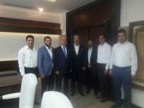 ALI DINÇER - Aydın TÜMSİAD'tan Vali Köşger'e Ziyaret