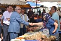 KADİR ALBAYRAK - Başkan Albayrak Muratlı'da Pazar Yeri İncelemesi