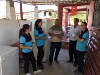 KOLTUK TAKIMI - Başkan Çerçioğlu Evi Yanan Aileye Yardım Elini Uzattı
