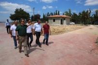 ŞÜKRÜ KARABACAK - Başkan Karabacak, Sahildeki Çalışmaları İnceledi
