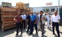 ŞÜKRÜ KARABACAK - Başkan Karaosmanoğlu'ndan Sanayicilere Ziyaret