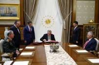 MILLI SAVUNMA BAKANı - Cumhurbaşkanı Erdoğan YAŞ kararlarını onayladı