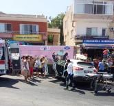 KOCAHASANLı - Erdemli'de Trafik Kazası Açıklaması 1 Ölü, 2 Yaralı