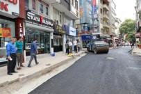 HÜSEYIN ANLAYAN - Fatsa'da Sıcak Asfalt Çalışmaları