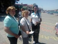 POLİS İMDAT - Foça Emniyetinden Dolandırıcılığa Karşı Broşürle Uyarı