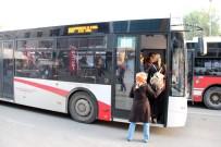 İŞ BIRAKMA EYLEMİ - İzmir'de şimdi de otobüsler çalışmayacak