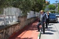 ZABITA MÜDÜRÜ - İznik'te Kaldırımlar Onarılıyor
