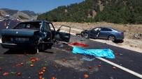 MUSTAFA DEMIR - Kahramanmaraş'ta İki Farklı Kazada 2 Kişi Öldü, 3 Kişi Yaralandı