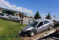 Konya'da İki Otomobil Çarpıştı Açıklaması 7 Yaralı