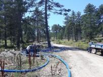 YOĞUN MESAİ - Manisa'da Mahallelere Yeni Su Kaynakları Kazandırılıyor