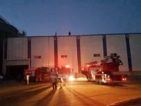 Mardin'de Korkutan Fabrika Yangını
