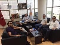 MUSTAFA AKIŞ - Memur- Sen Bilecik Şubesi'nden Başkan Karabıyık'a Ziyaret