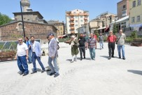 ALİ KORKUT - Muratpaşa Kent Meydanı, Medya Temsilcilerinden Tam Not Aldı