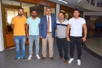 İSABEYLI - Nazilli Belediyesi  Spor Klüplerine Desteklerine Devam Ediyor