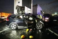 ADNAN ERDOĞAN - Tır Karşı Şeride Geçti, 4 Araca Çarptı Açıklaması 6 Ölü, 3 Yaralı