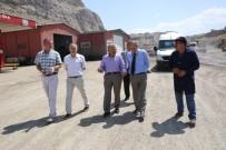 MIMARSINAN - Tuz Deposunda Üretilen Tuzlar, Buzlu Yollarda Kullanılacak
