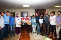 MUSTAFA TUNA - Umudun Kanatları'ndan Başkan Tuna'ya Ziyaret