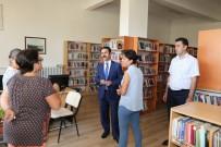 Vali Aktaş, Kültür Ve Turizm Müdürlüğüne Bağlı Birimlerde İncelemeler Yaptı