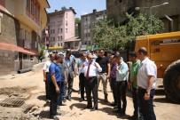 Vali Ustaoğlu, Sokak Sağlıklaştırma Çalışmalarını İnceledi