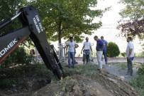 VEZIRHAN - Vezirhan'da Kanalizasyon Çalışmaları Devam Ediyor