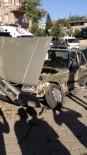 MİMAR SİNAN - Adıyaman'da İki Otomobil Çarpıştı Açıklaması 3 Yaralı
