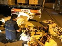Aksaray'da Kaçak Sigara Operasyonu Açıklaması 1 Tutuklama