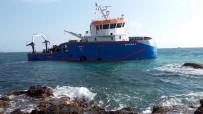 SU ÜRÜNLERİ - Araştırma Gemisi İskenderun Açıklarında Karaya Oturdu