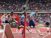 Ramil Guliyev, 20.17'lik derecesiyle yine birinci oldu!