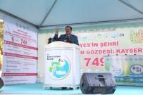 Bakan Eroğlu Açıklaması 'Kayserili Çiftçilerin Cebine Yılda 450 Milyon TL Para Girecek'