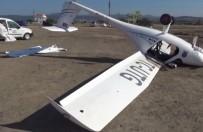 EMNIYET ŞERIDI - Çanakkale'de Korkutan Uçak Kazası Açıklaması 1 Yaralı
