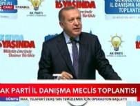 İL DANIŞMA MECLİSİ - Cumhurbaşkanı Erdoğan: Racon kesilecekse tek ben keserim