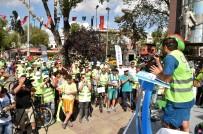 GÜRÜLTÜ KİRLİLİĞİ - İstanbullular Bisikletle Boğazı Turladı